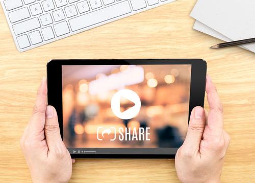 video btob reseaux sociaux