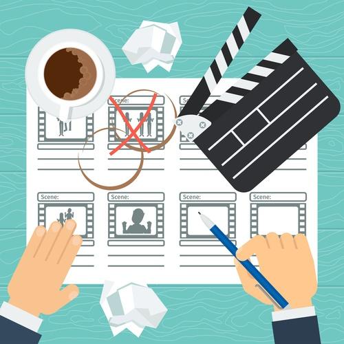 video b2b storyboard