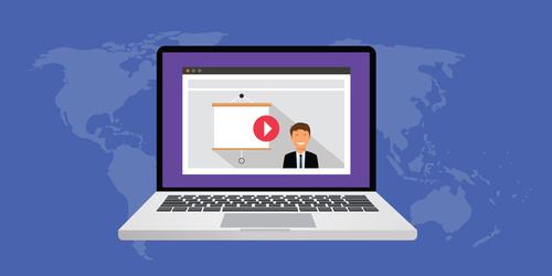 vidéo b2b webinar