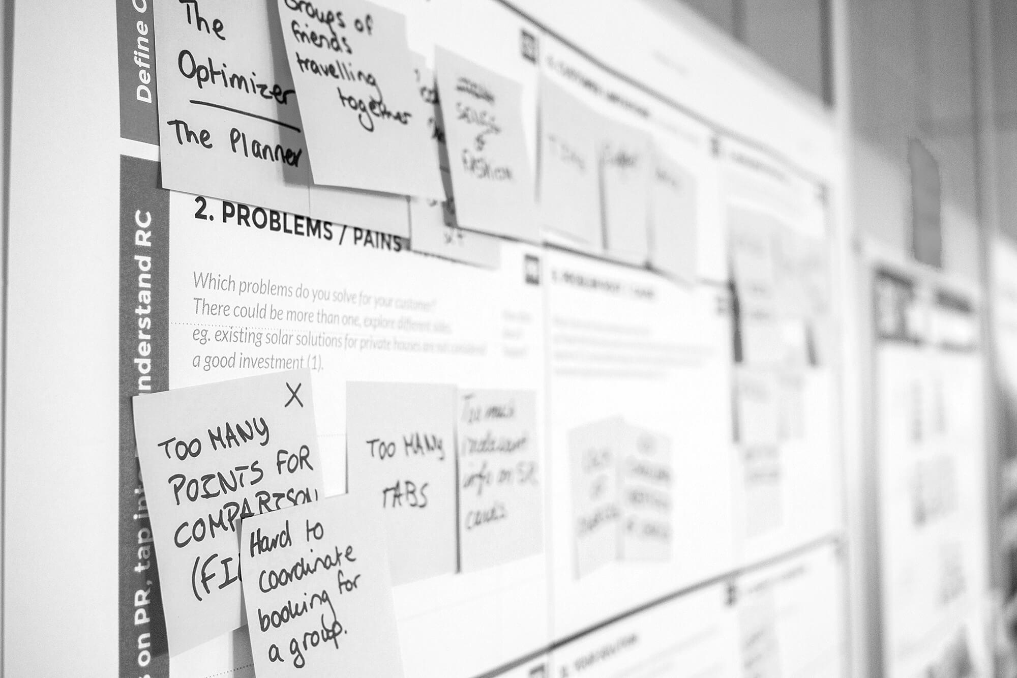tableau de gestion de projet markerting