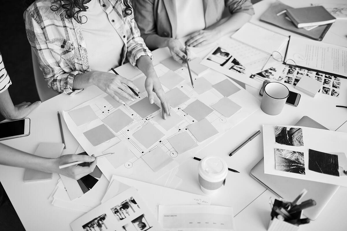 Réflexion dans un projet Design Thinking
