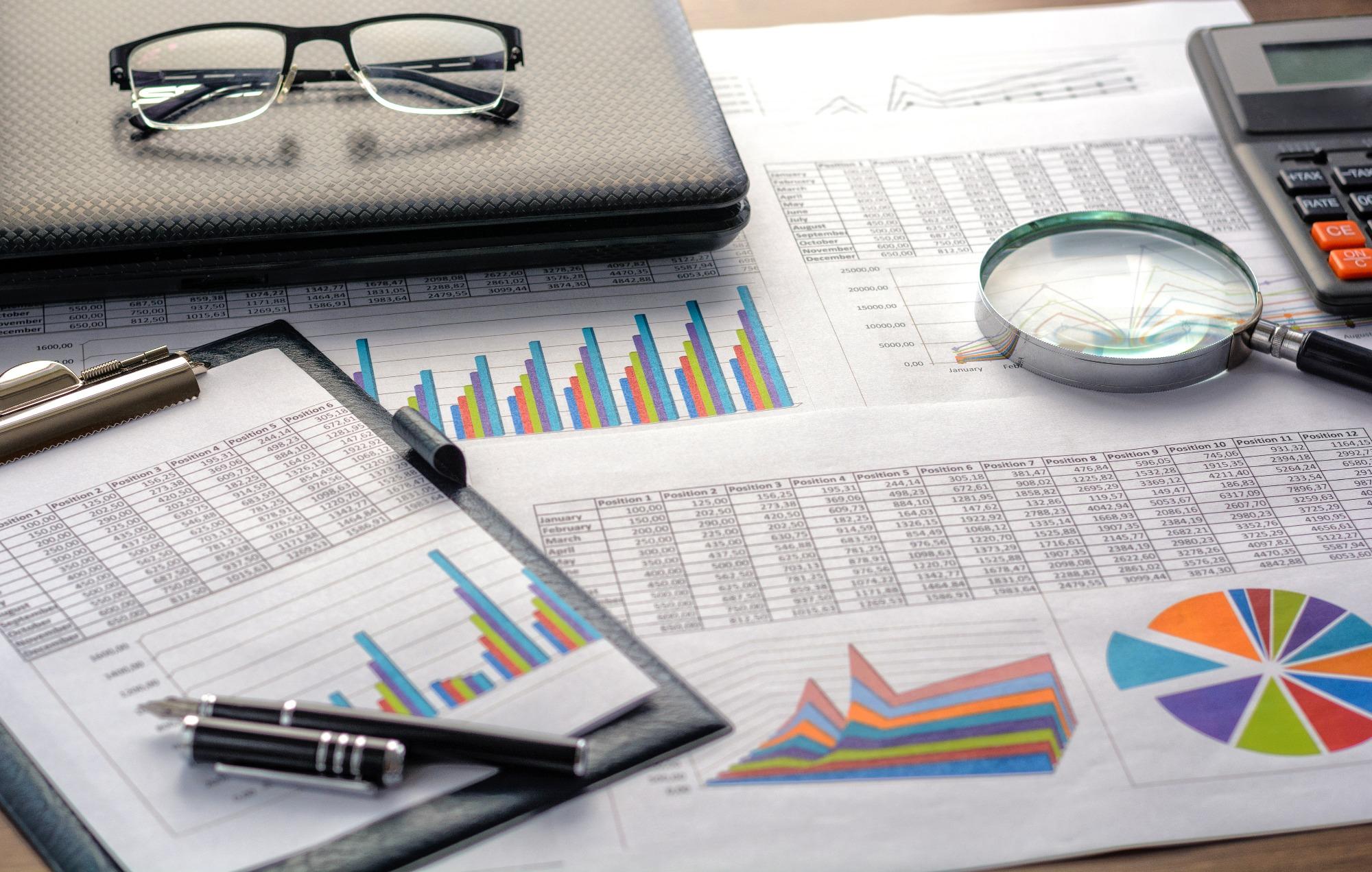 Feuilles de données faisant partie d'une étude qualitative