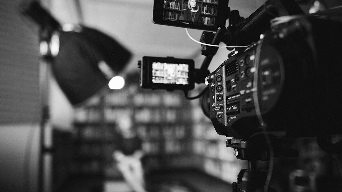 tournage d'une vidéo pour un éditeur de logiciel
